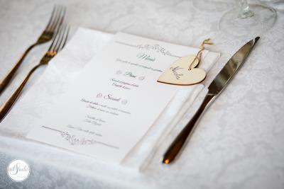 il menu di nozze